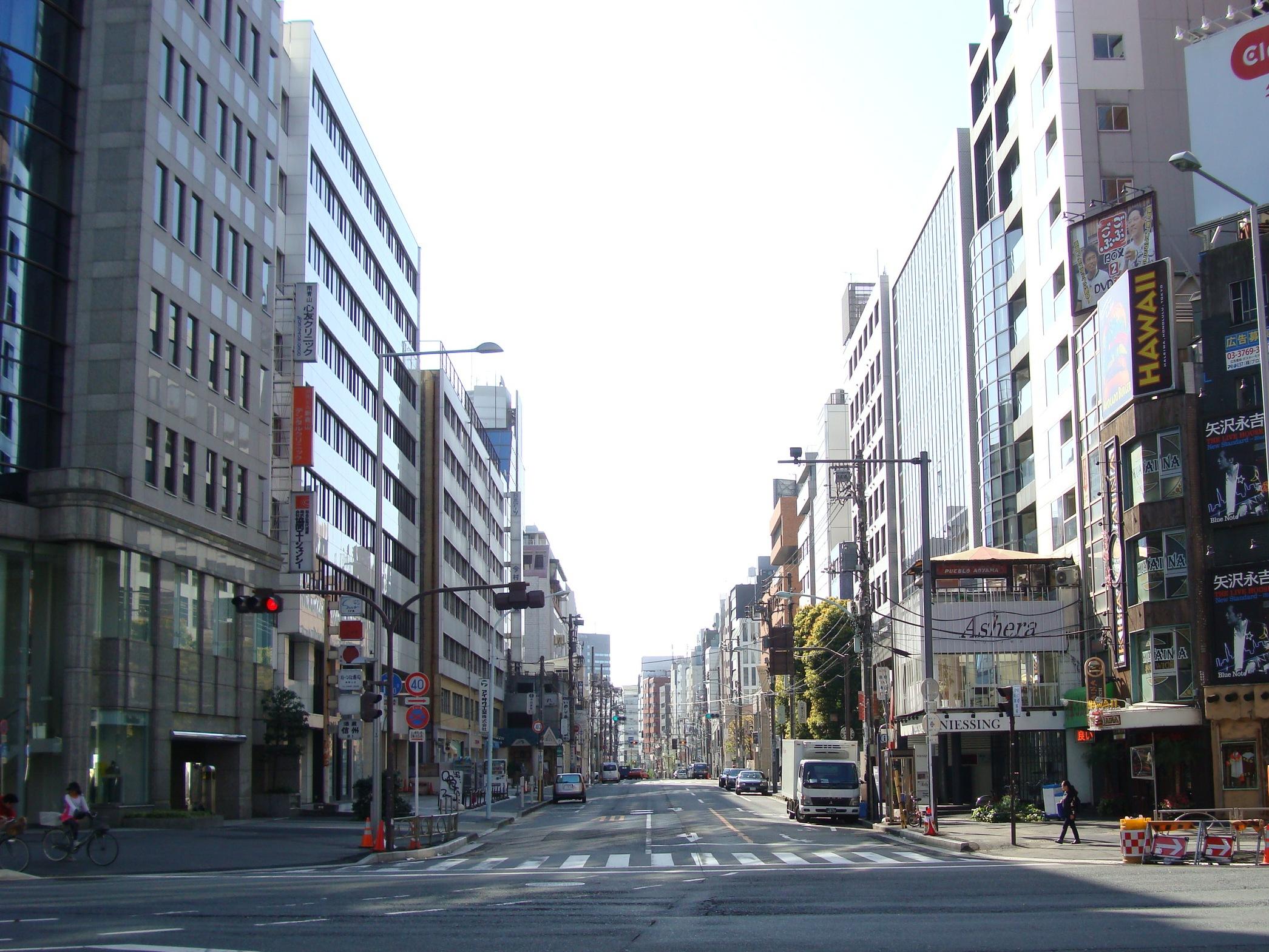 Kotto Dori street Tokyo
