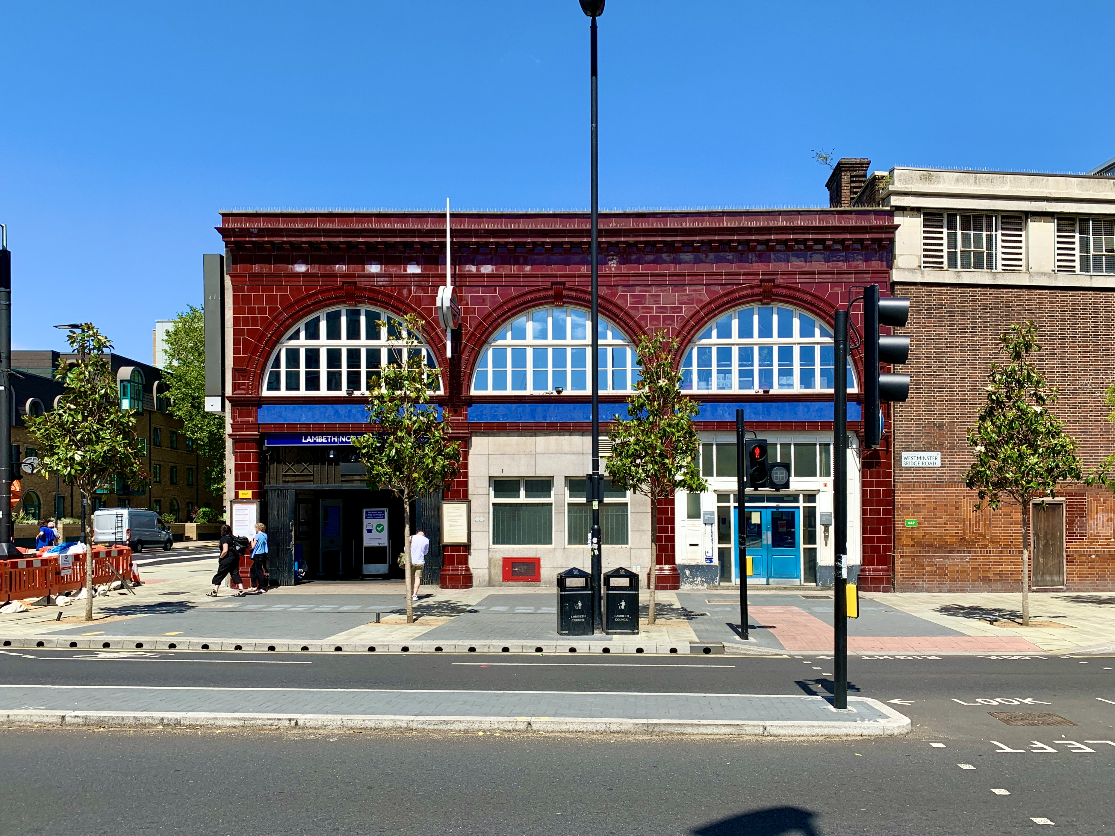 Lambeth North tube station - Wikipedia