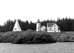 Little River Light lighthouse in Maine, United States