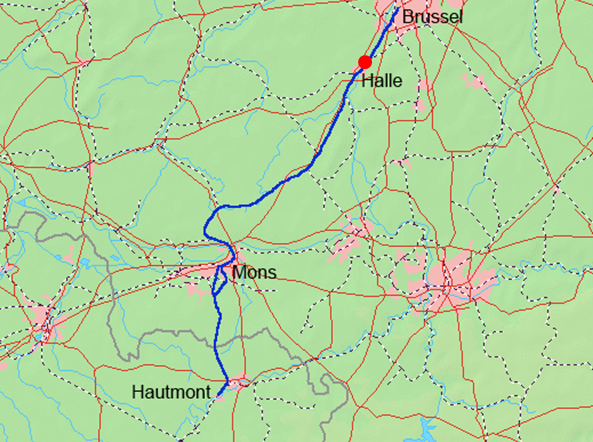 Katastrofa kolejowa w Halle
