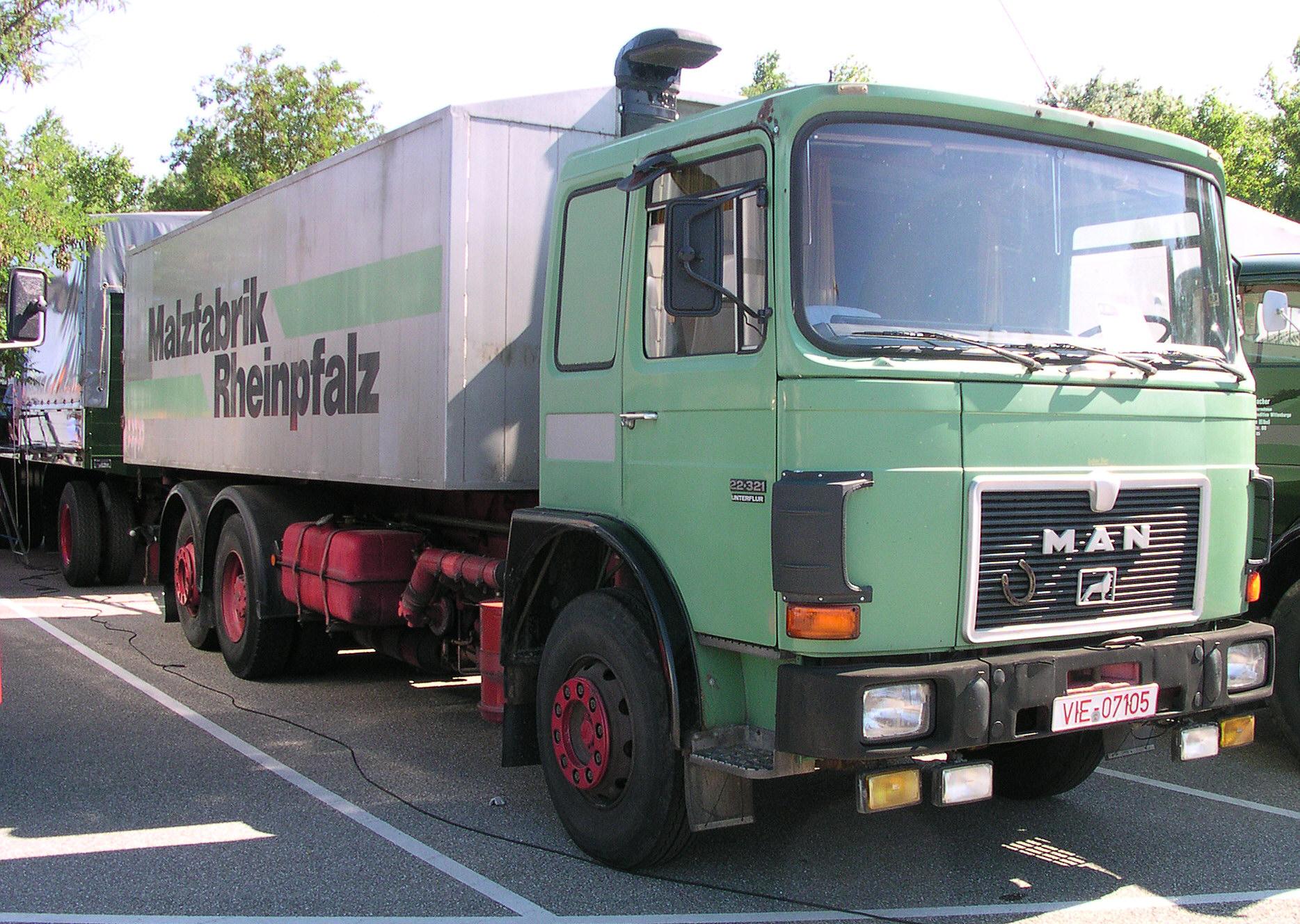 Camion Mercedes Toupie Bruder