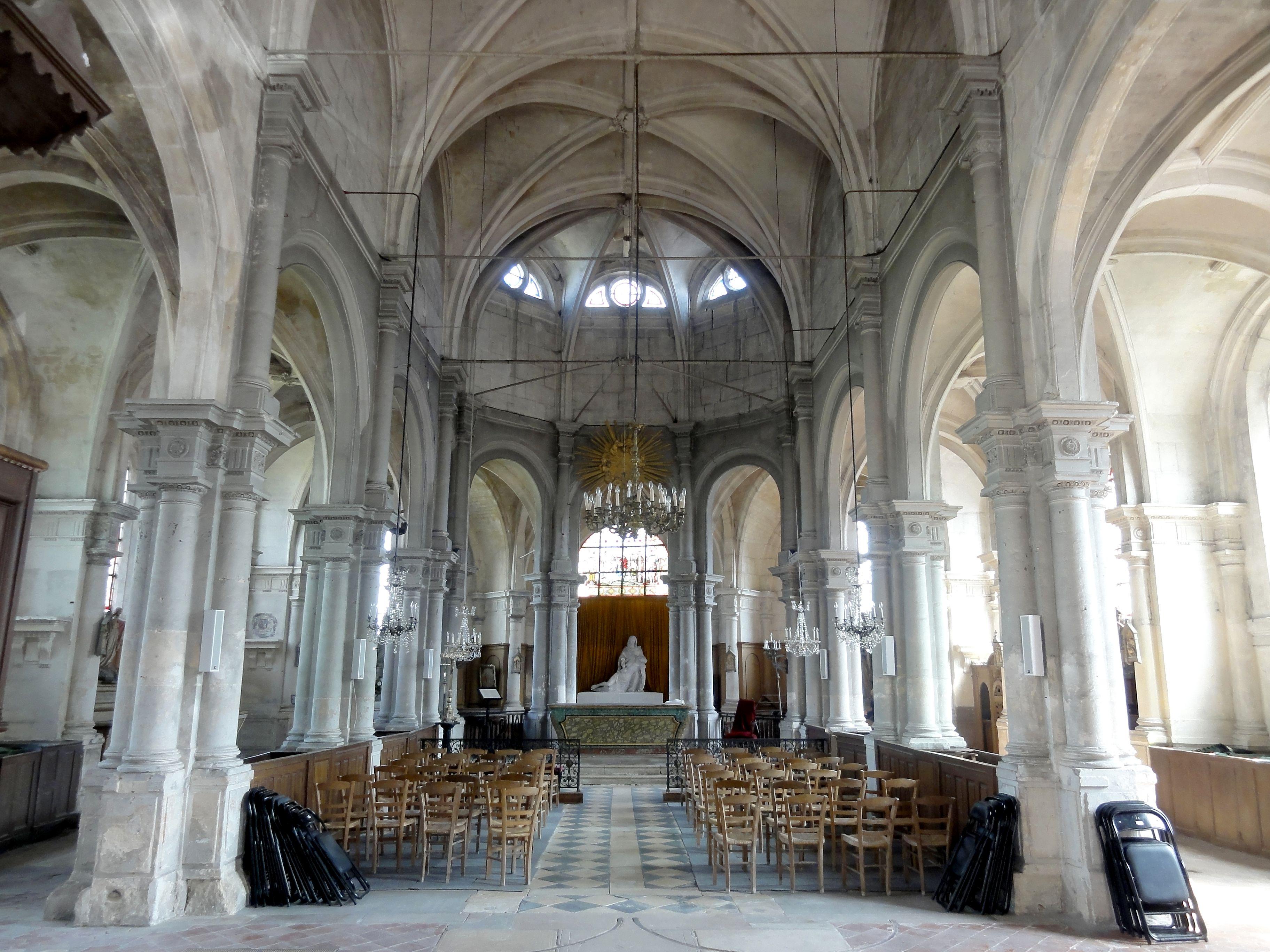 Fichier mareil en france 95 glise saint martin nef for France interieur