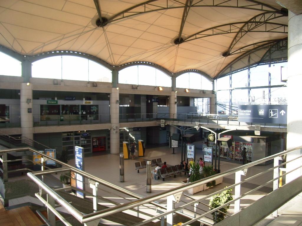 Massy palaiseau tgv train station for G architecture massy
