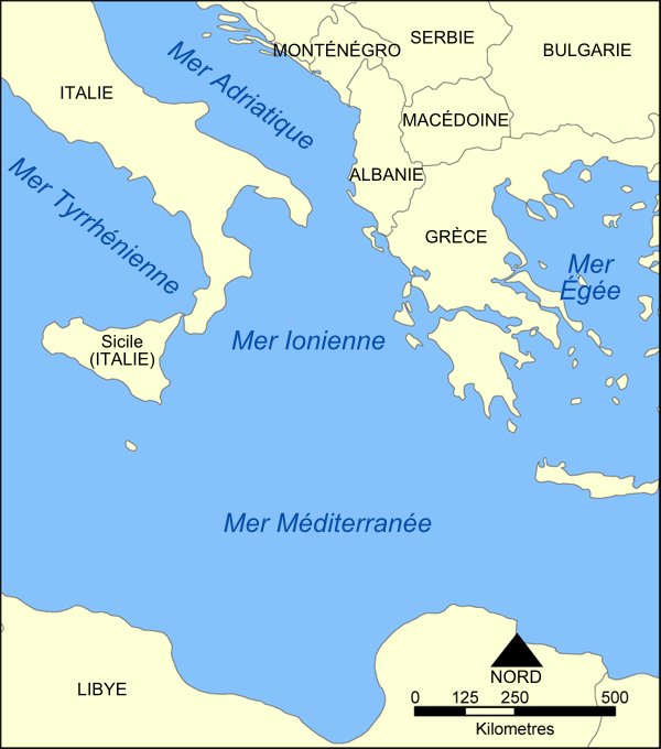 adriatique carte