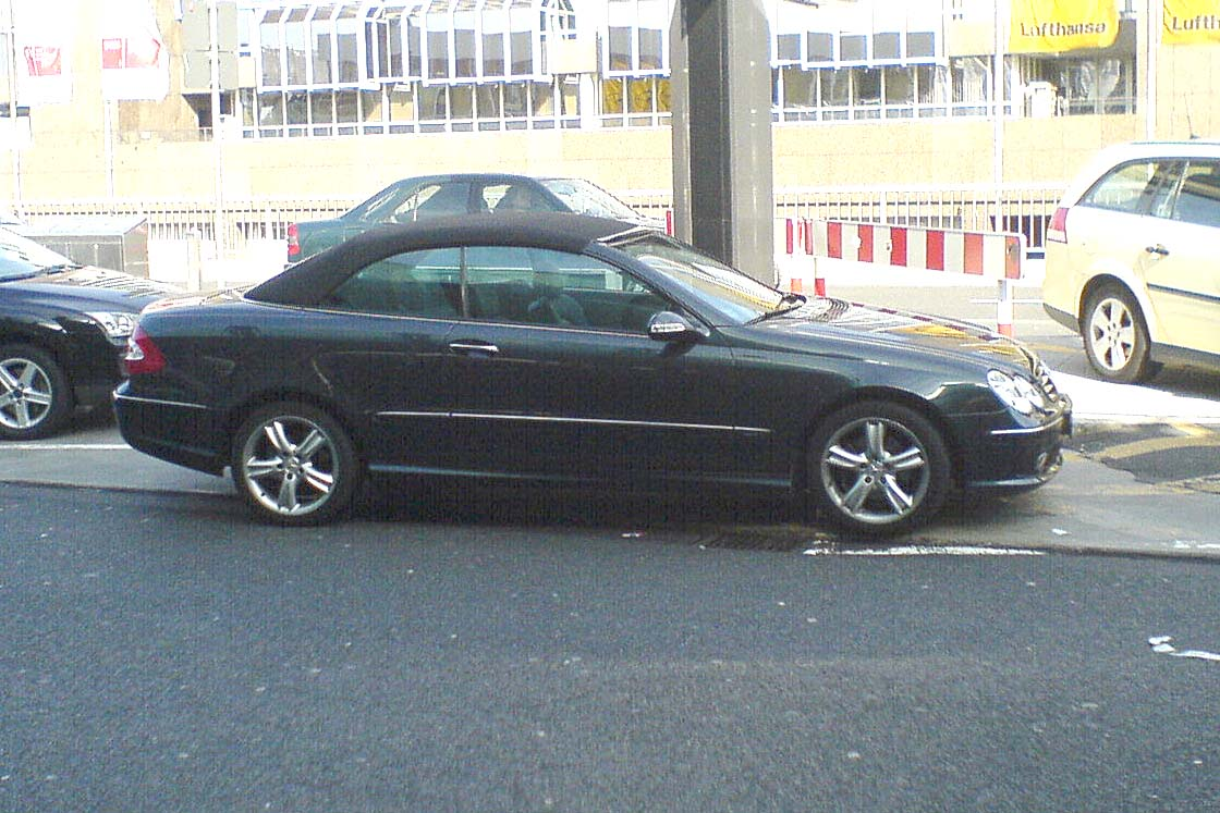 file mercedes benz clk convertible a209
