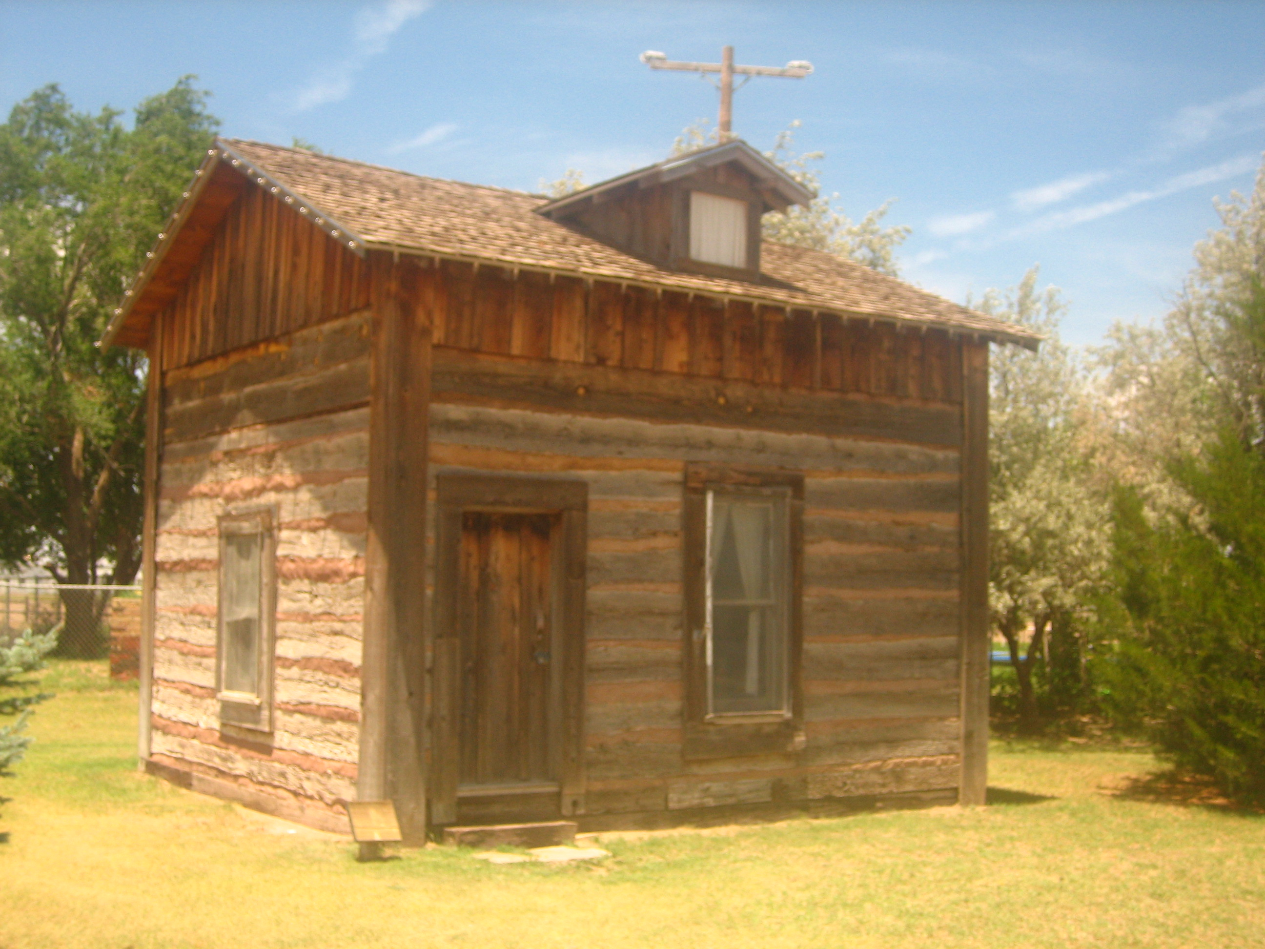 File:Muleshoe Log Cabin.JPG Wikimedia Commons. Full resolution‎  file, nominally Width 2592 Height 1944 pixels, file with #B28919.
