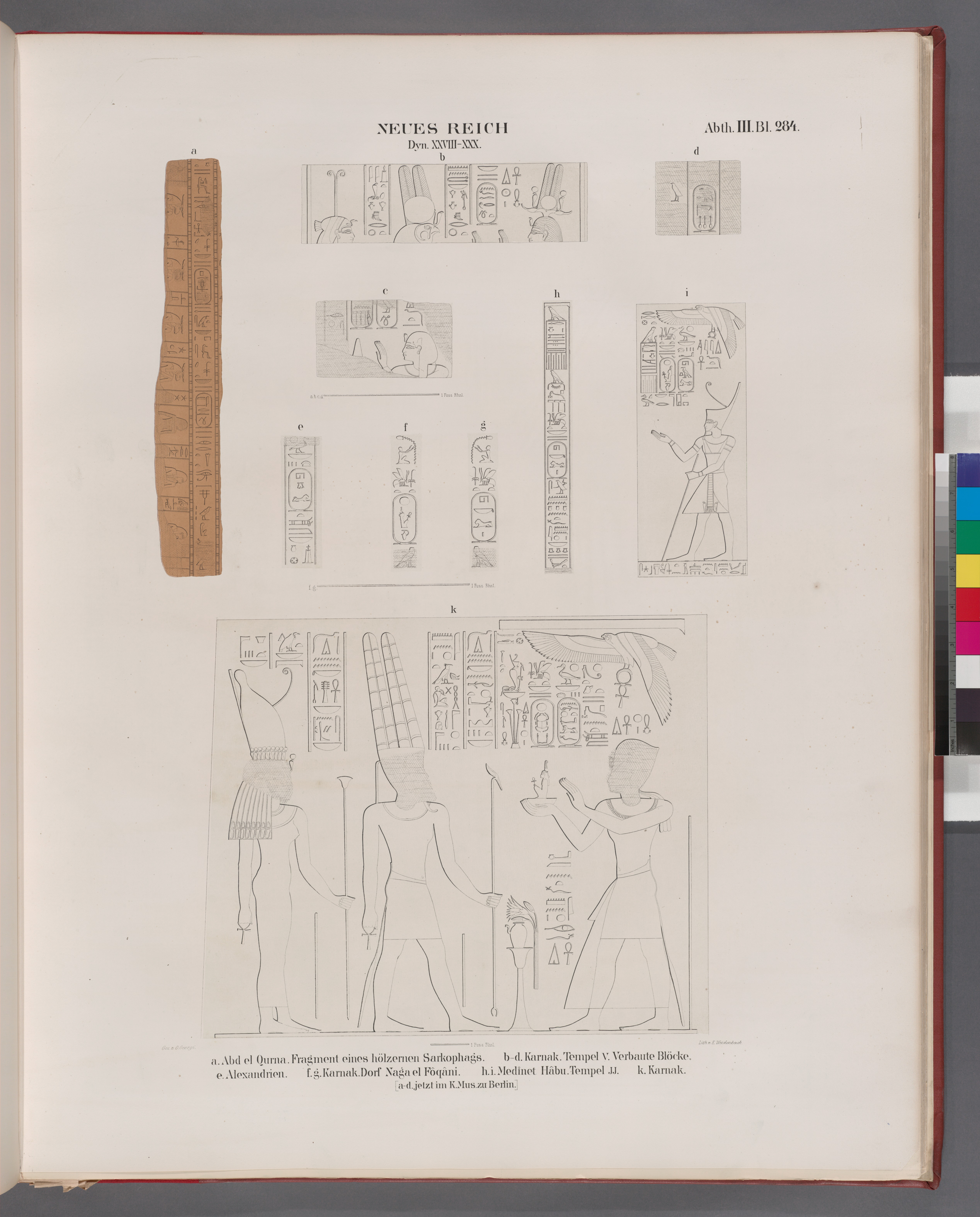 File:Neues Reich. Dyn. XXVIII-XXX. a. Abd el Qurna