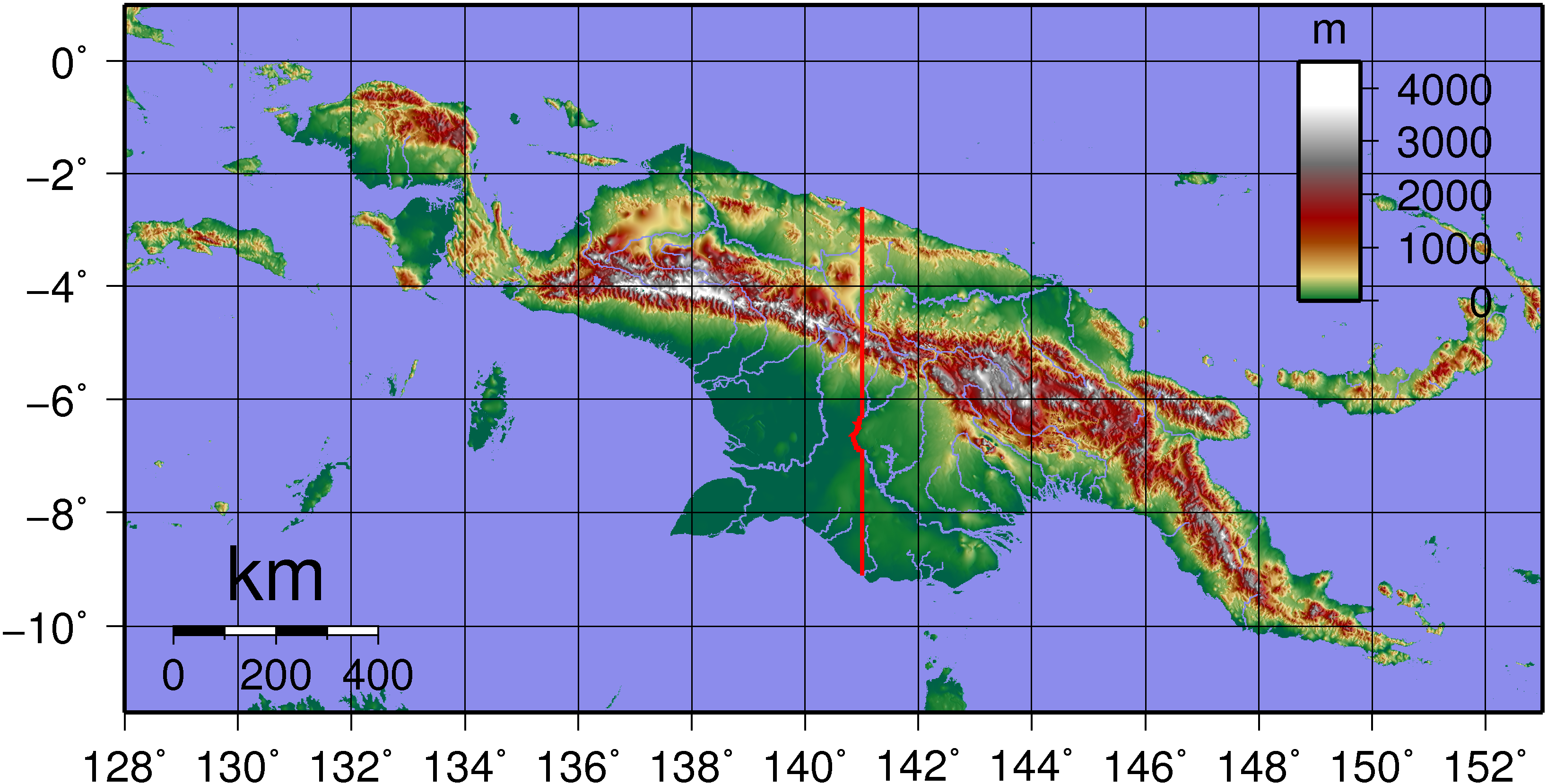 Picture of: File New Guinea Topography Png Wikimedia Commons