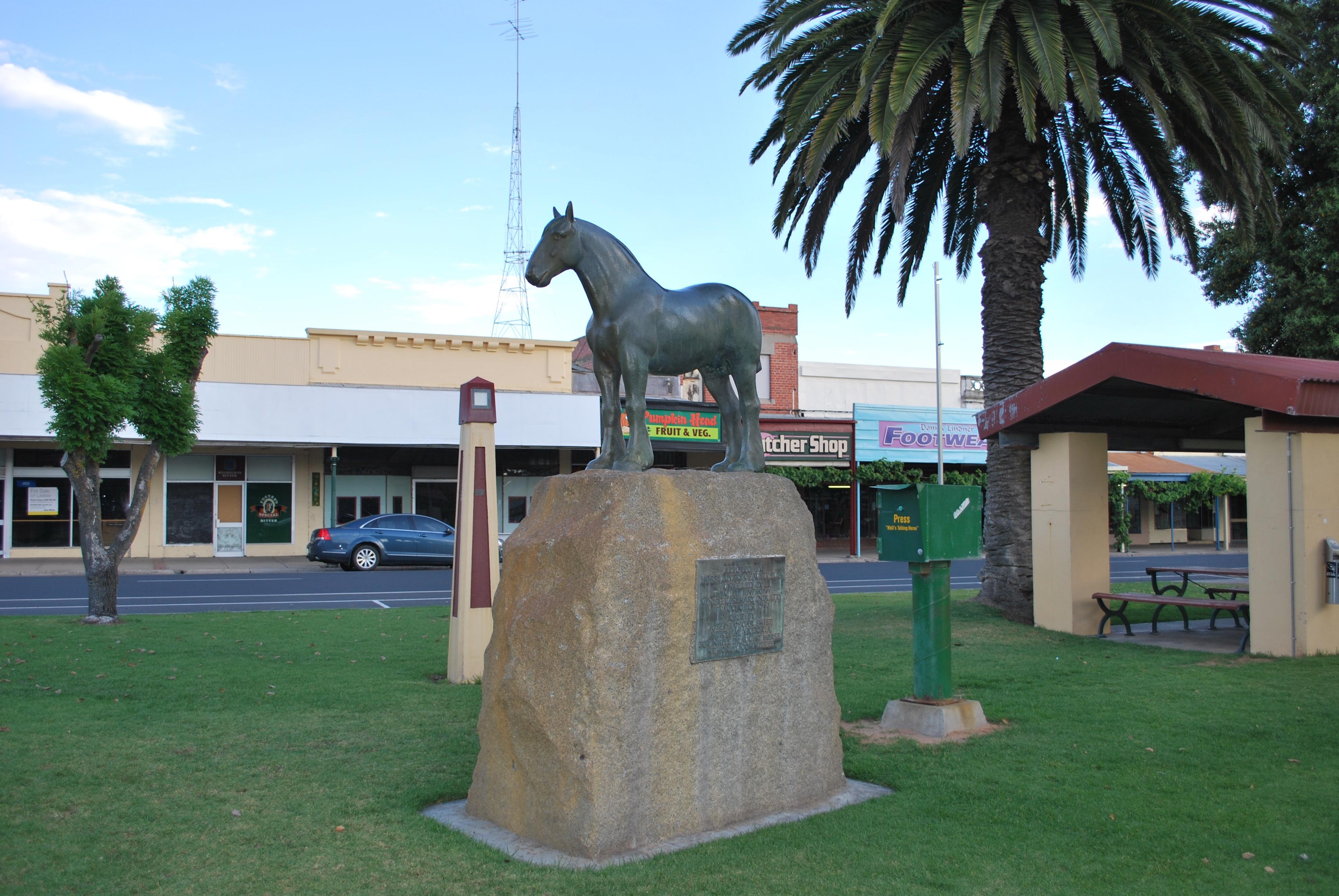 Nhill Australia  city images : Nhill Horse Statue Nhill, Australia