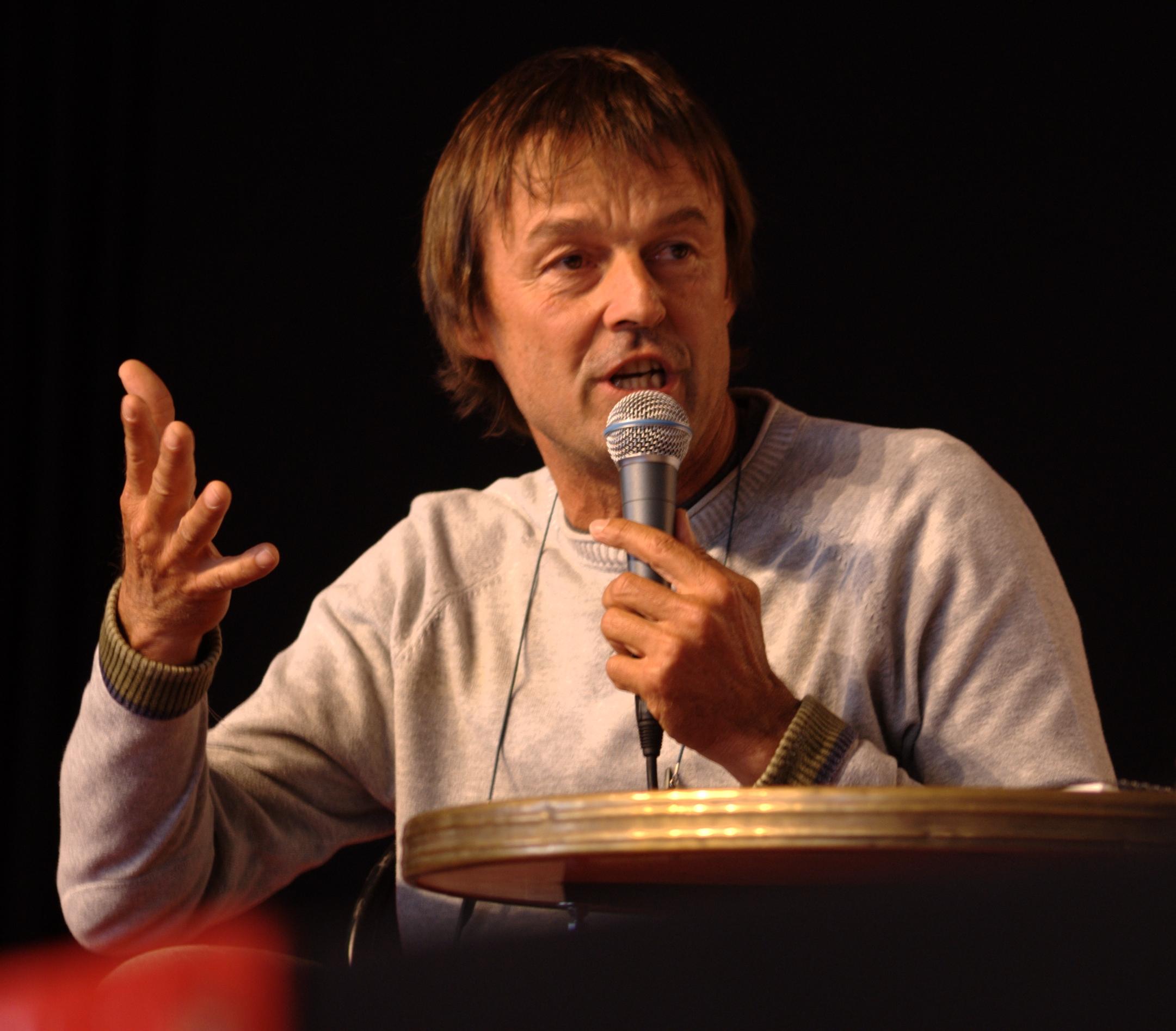 Image of Nicolas Hulot from Wikidata
