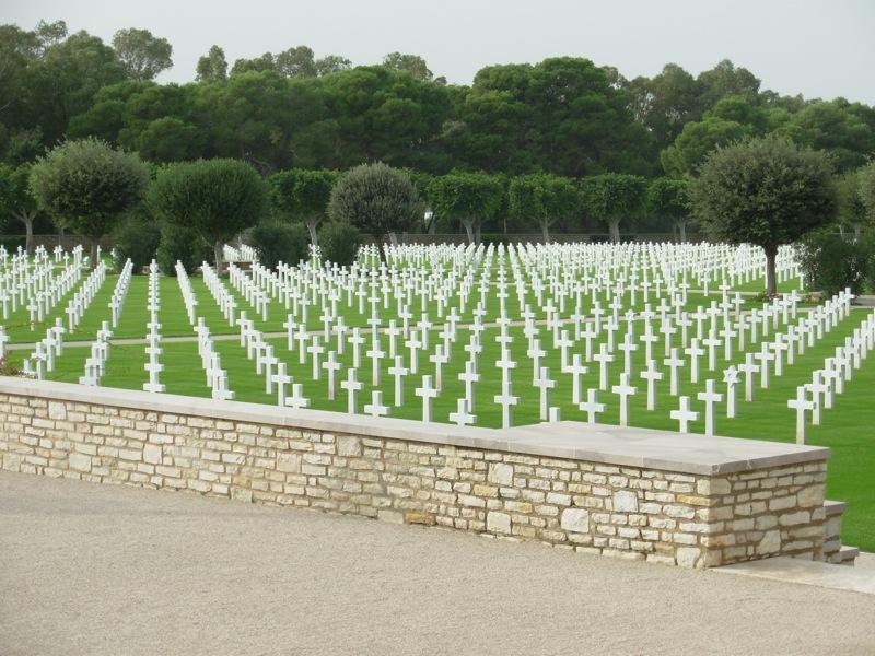 בית הקברות הצבאי והאנדרטה האמריקניים בצפון-אפריקה