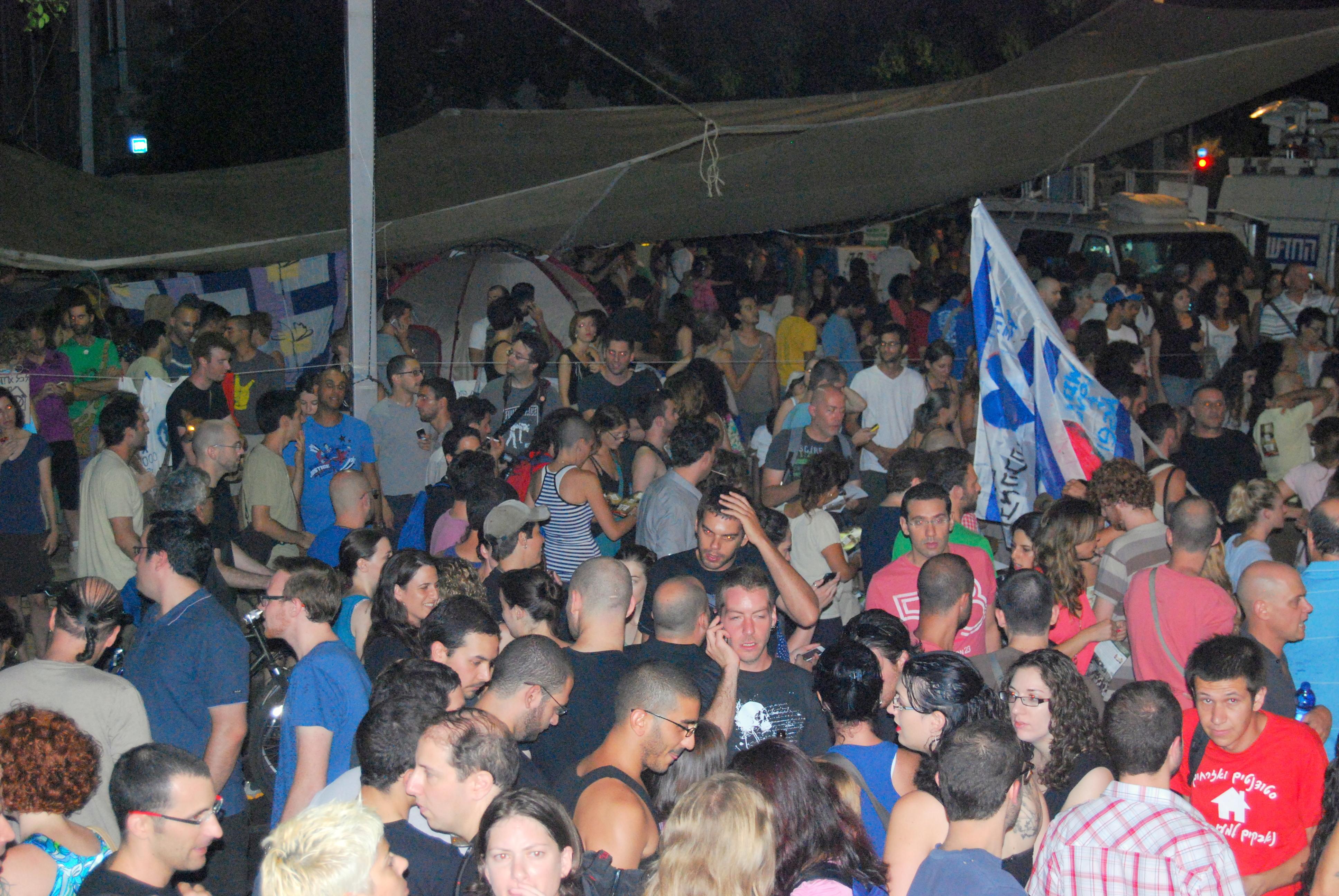 מחאת האוהלים בתל אביב