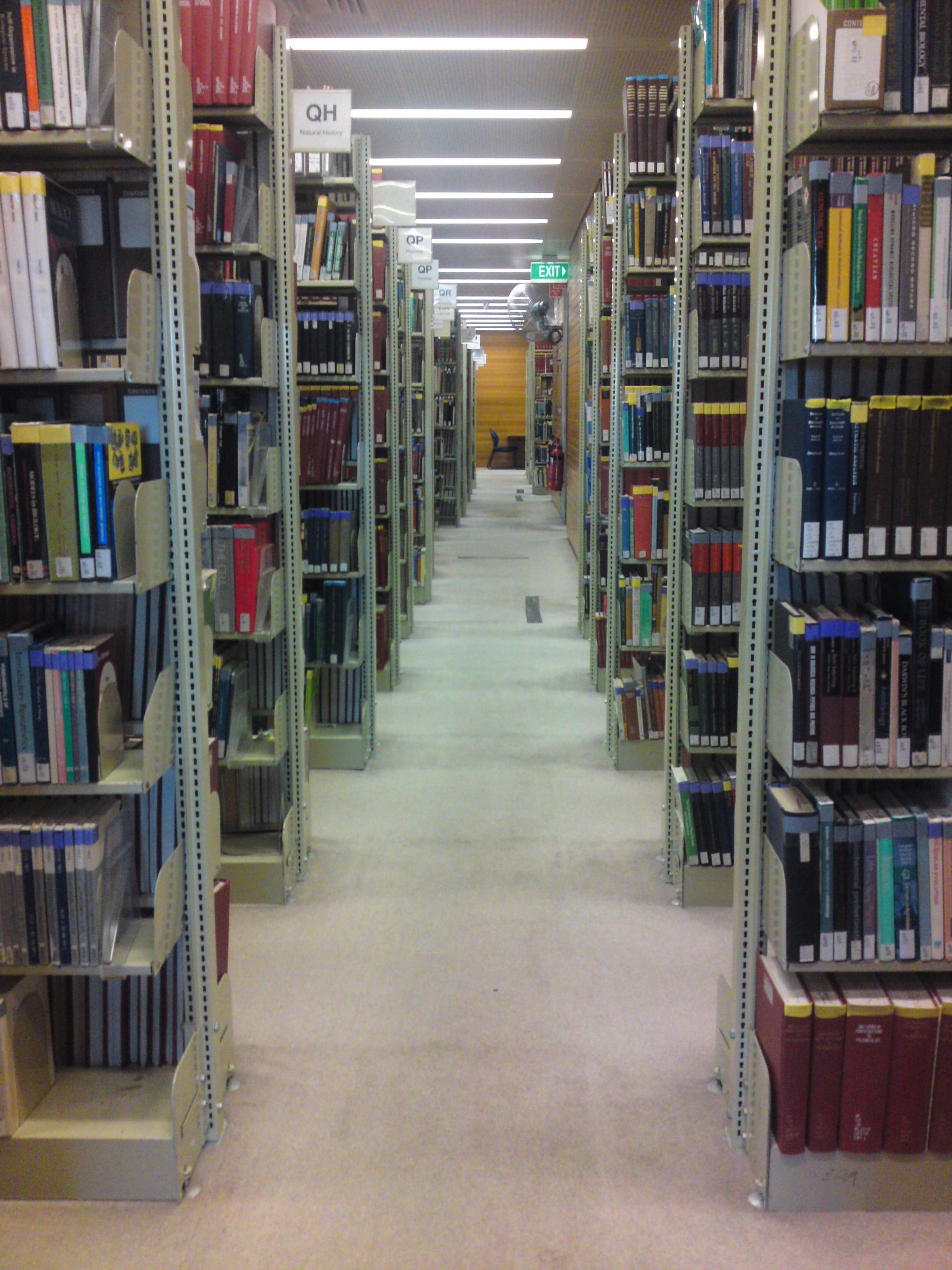 Old Library Bookshelves 2448 x 3264