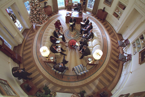 Oval Office from above