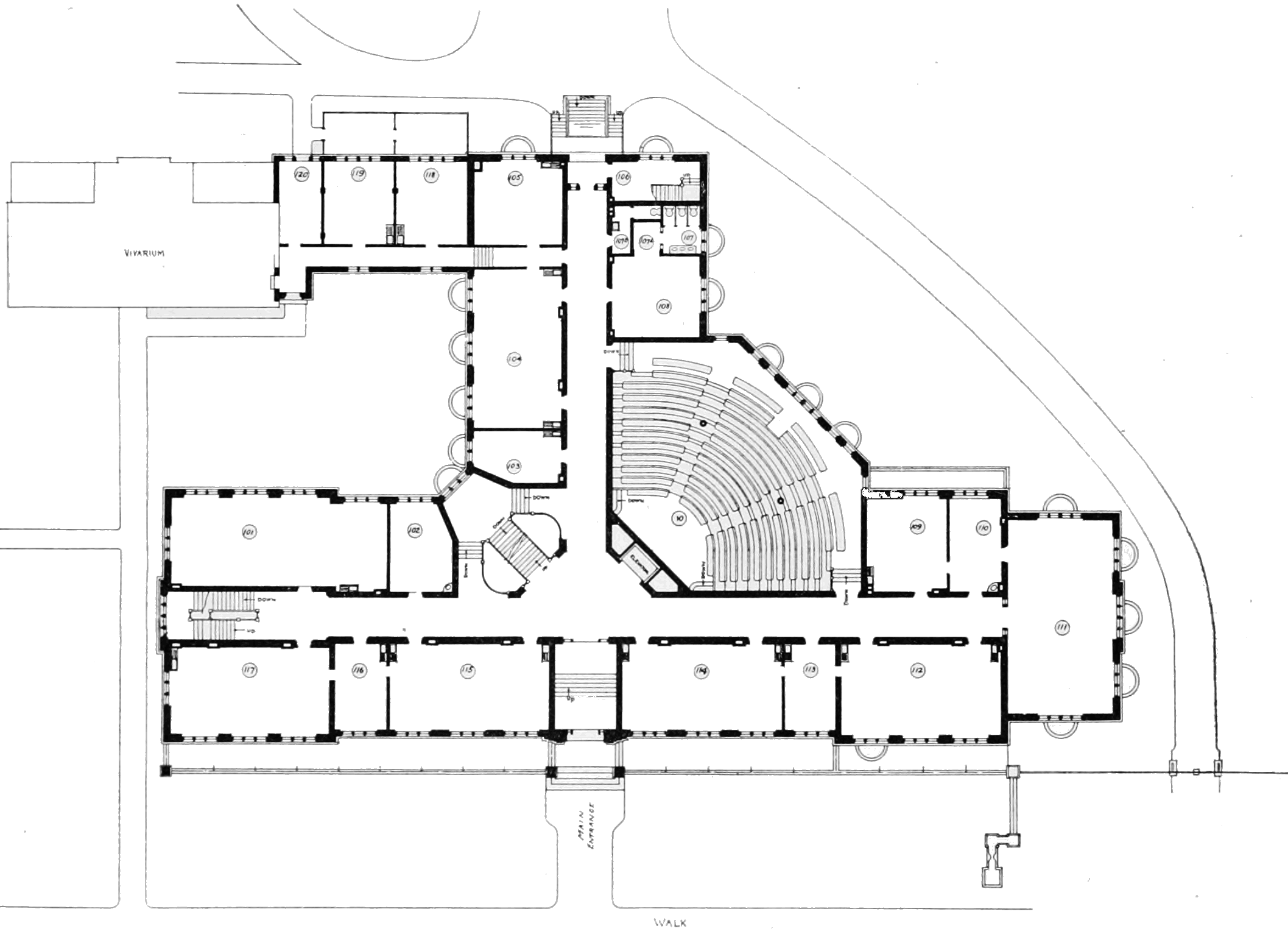 file psm v79 d623 first floor plan of the zoological lab at the u