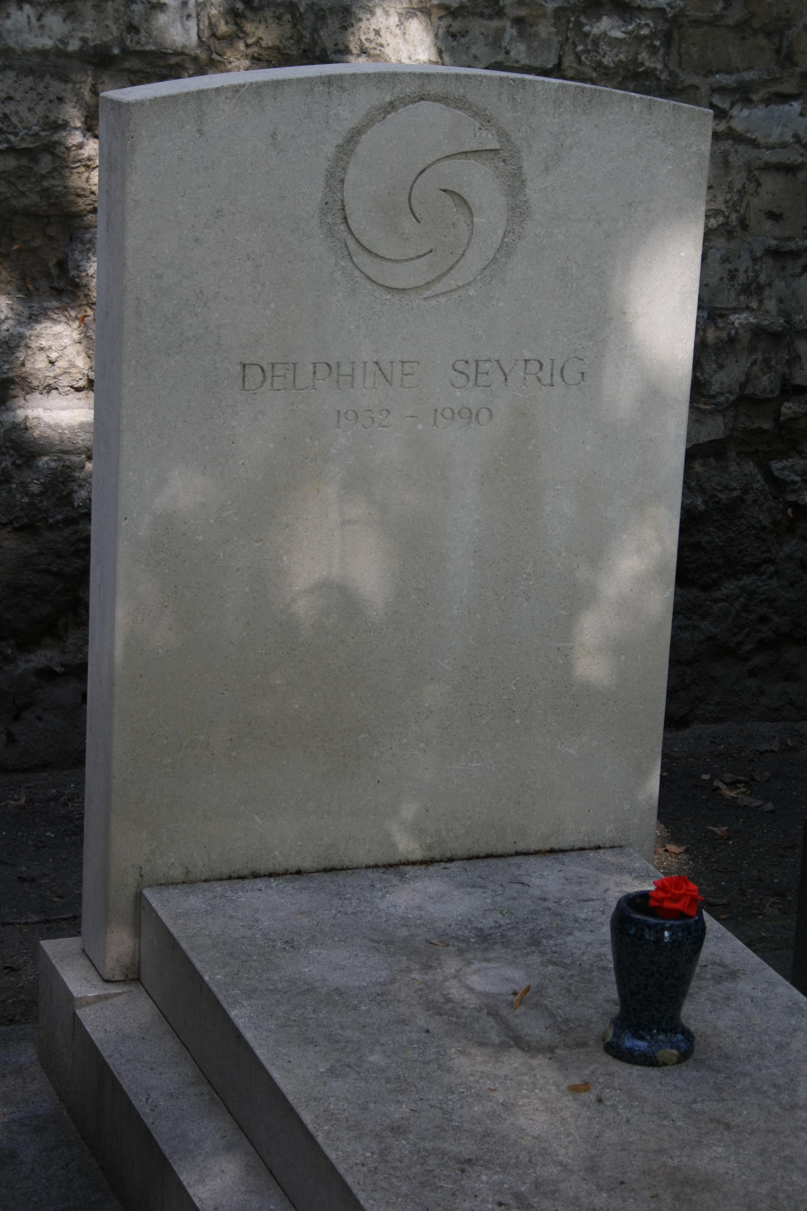 Grab von Delphine Seyrig