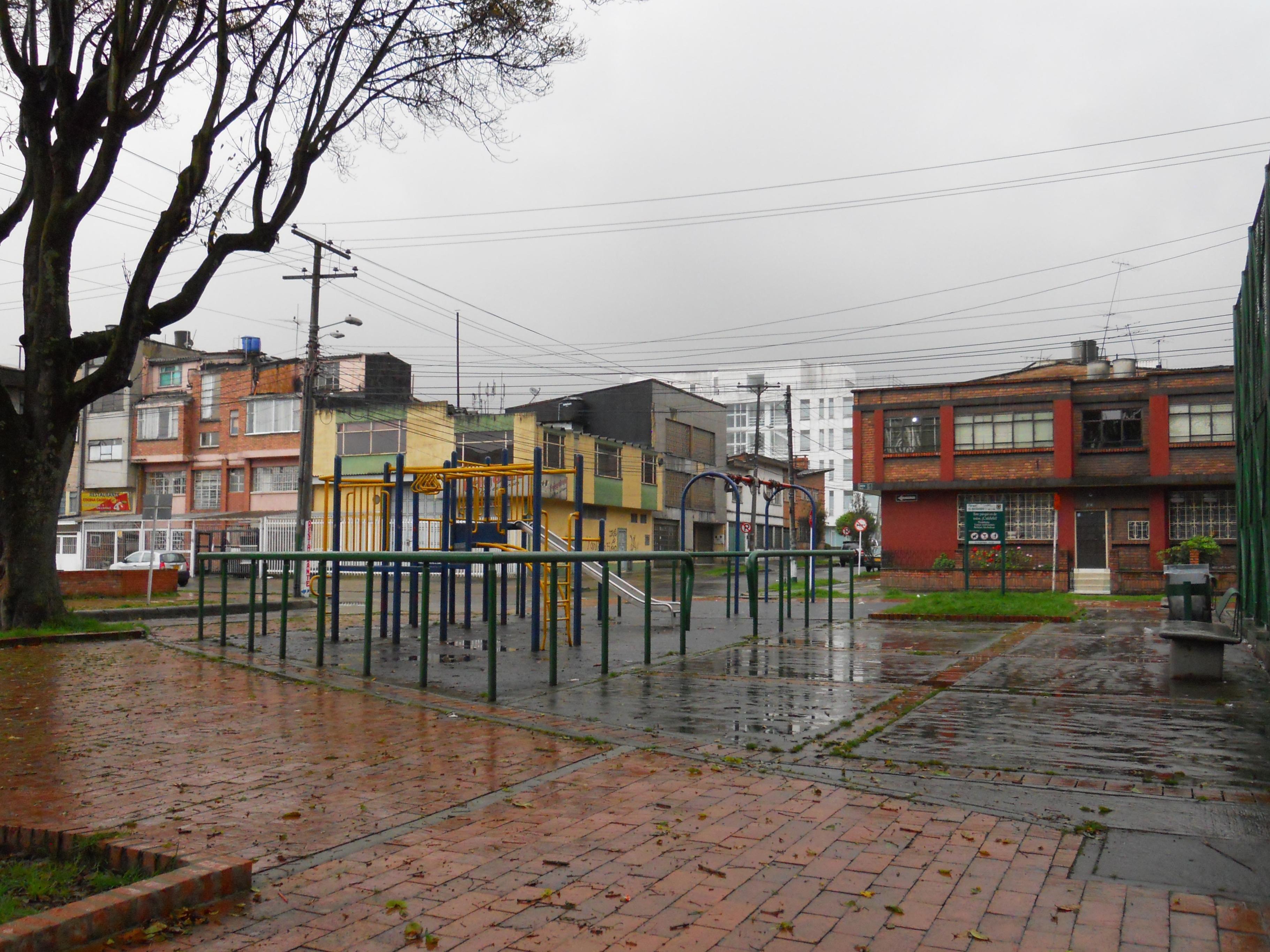 el parque del barrio:
