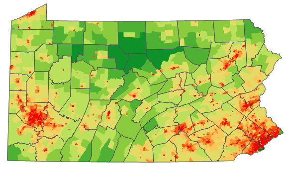 Population Of Philadelphia In 2016 States And City