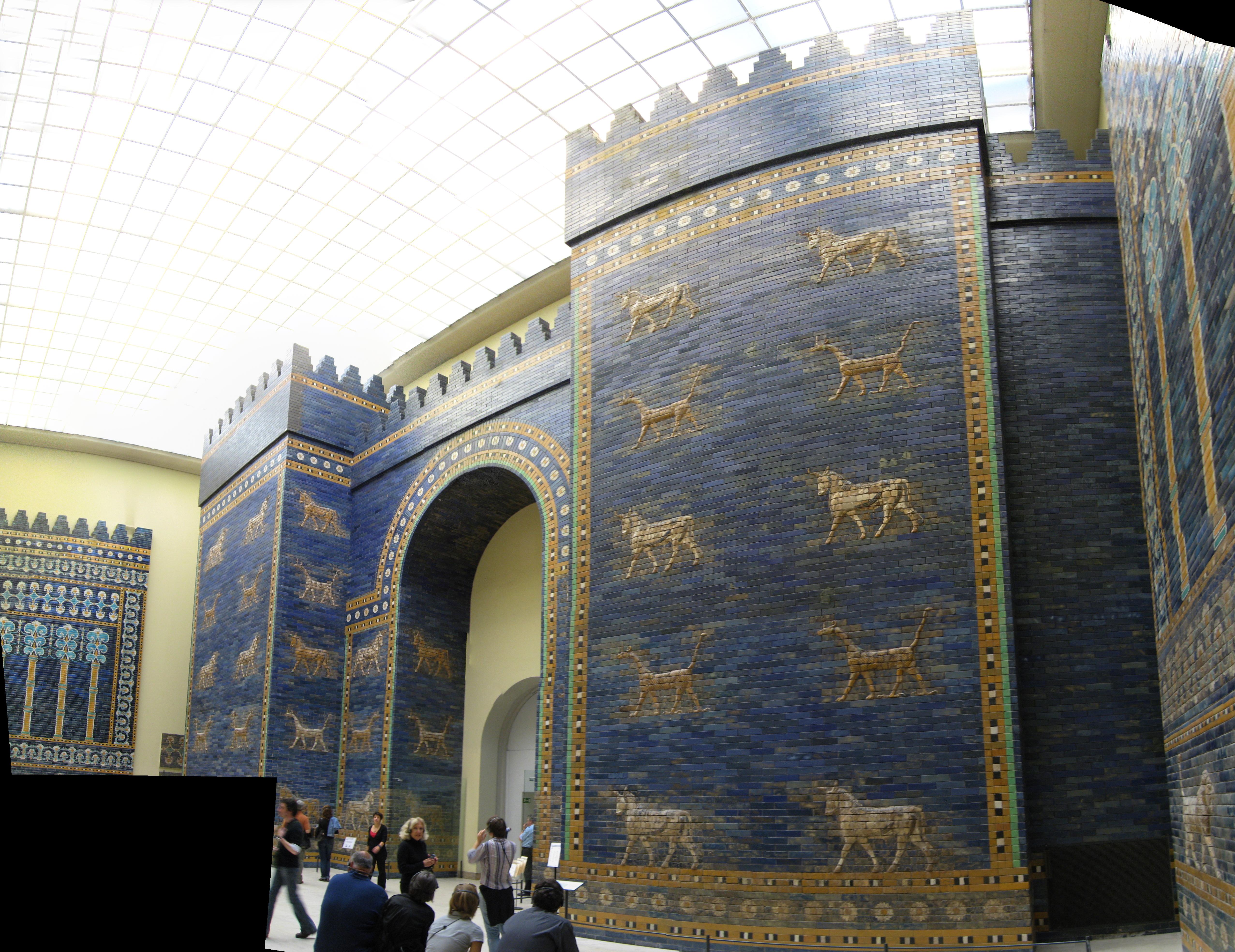 File pergamon museum berlin wikimedia commons - Porta di mileto ...