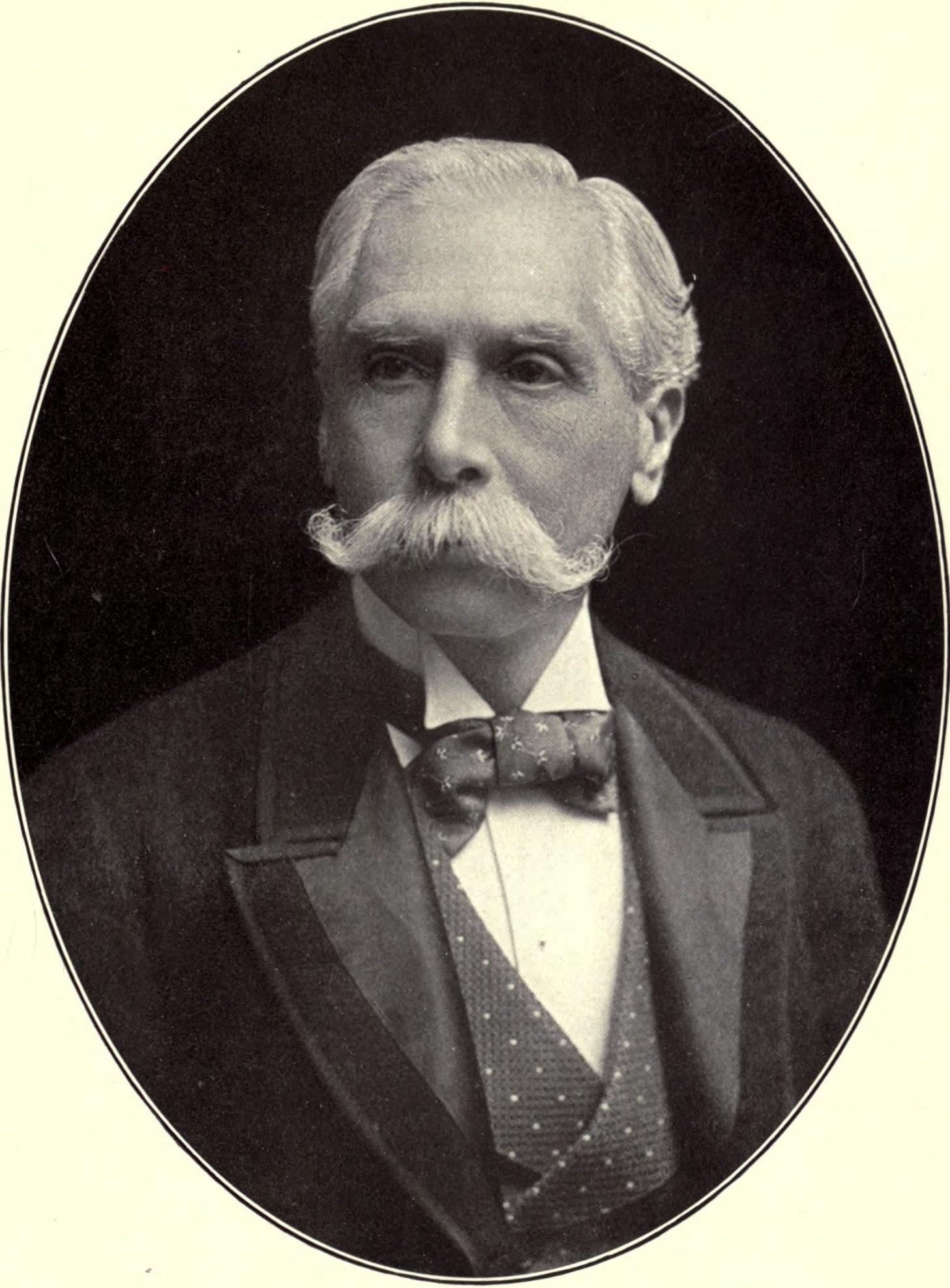 Portrait of Alfred Austin