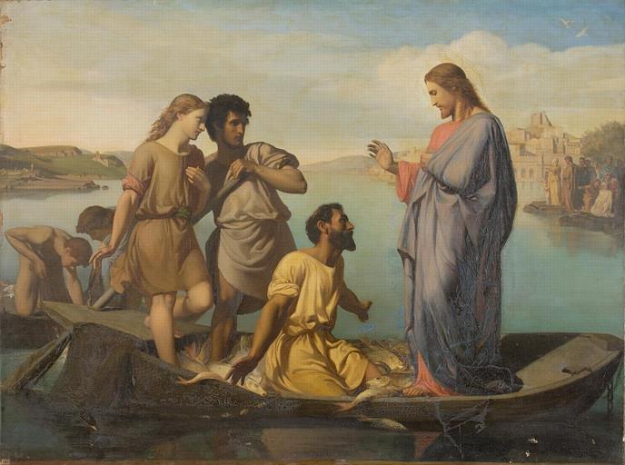 File:Picou, Henri Pierre - La Pêche miraculeuse - 19th century.jpg