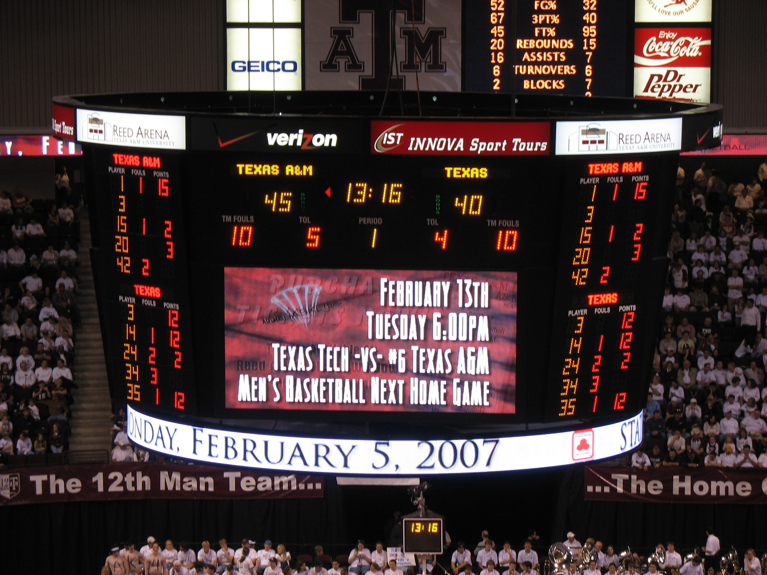 File:Reed arena scoreboard.jpg - Wikimedia Commons