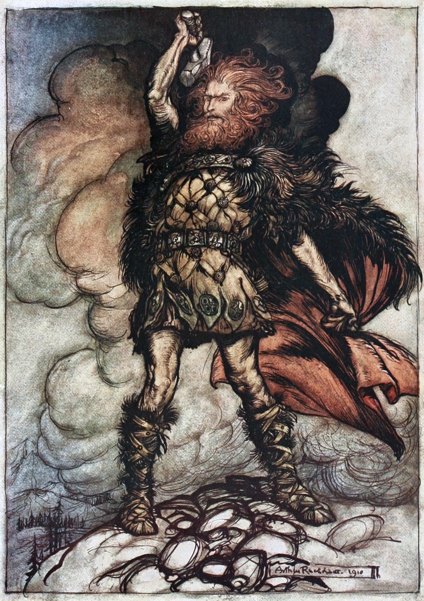 Teutonic Storm God