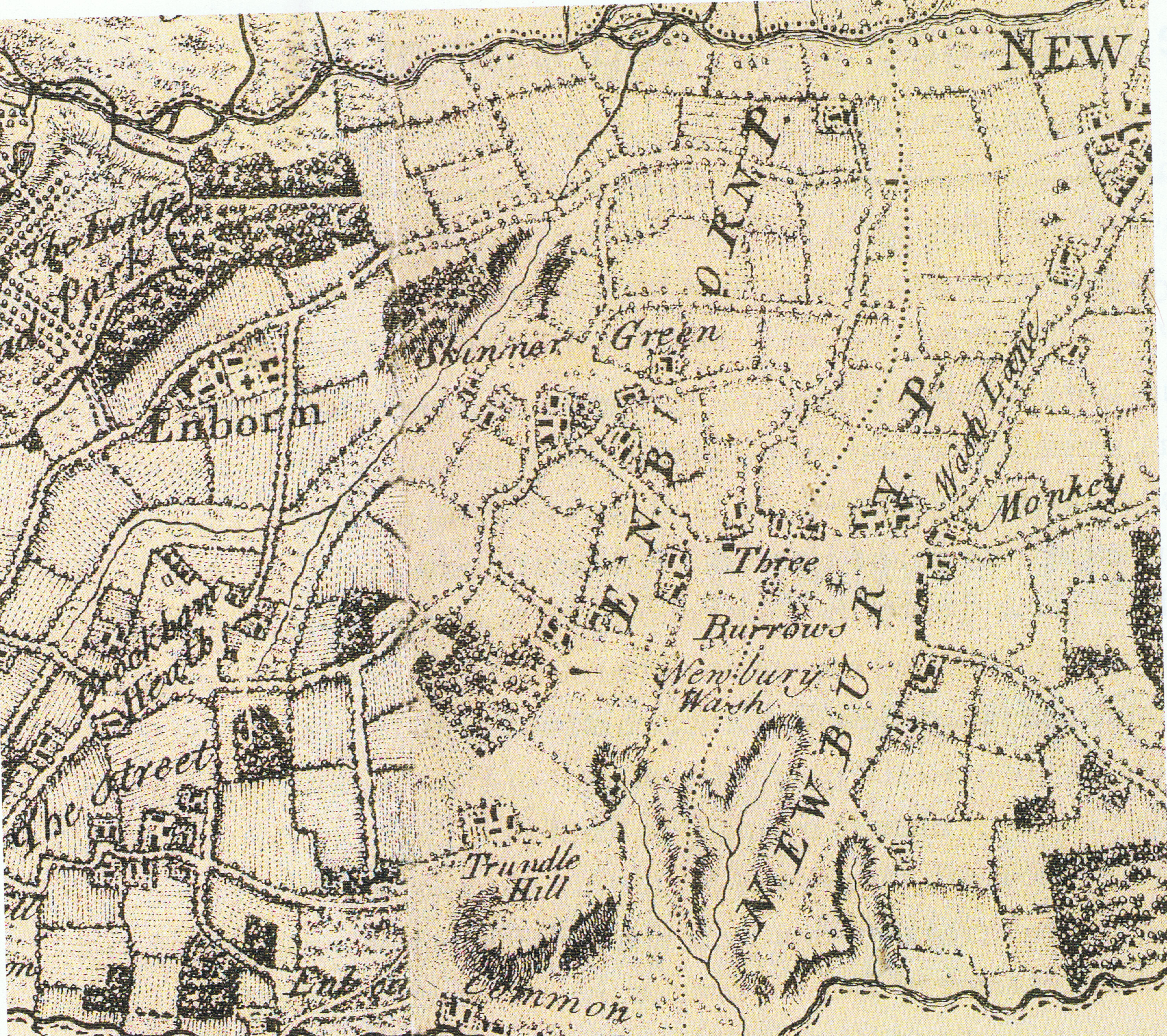 FileSandleford Newbury Wash Enborne Wash And East Enborne - Wash map