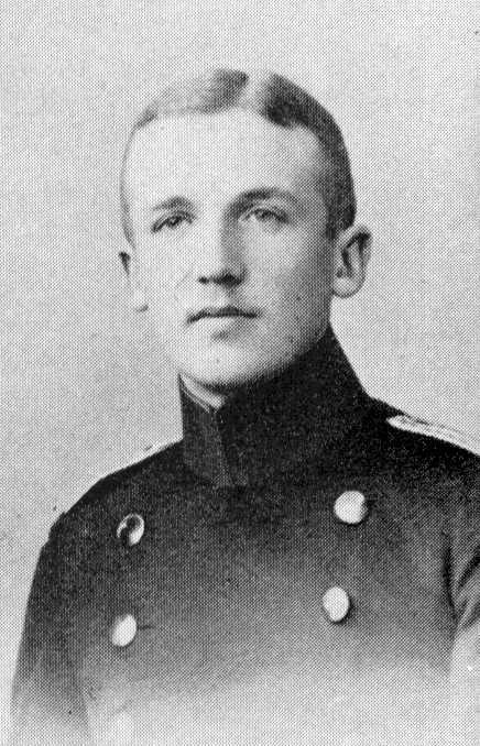 Schleicher als junger Leutnant (1900)