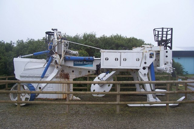 Sea Plough, Goonhilly Satellite Earth Station - geograph.org.uk - 1397955