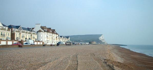 Seaford beach, East Sussex (2003)