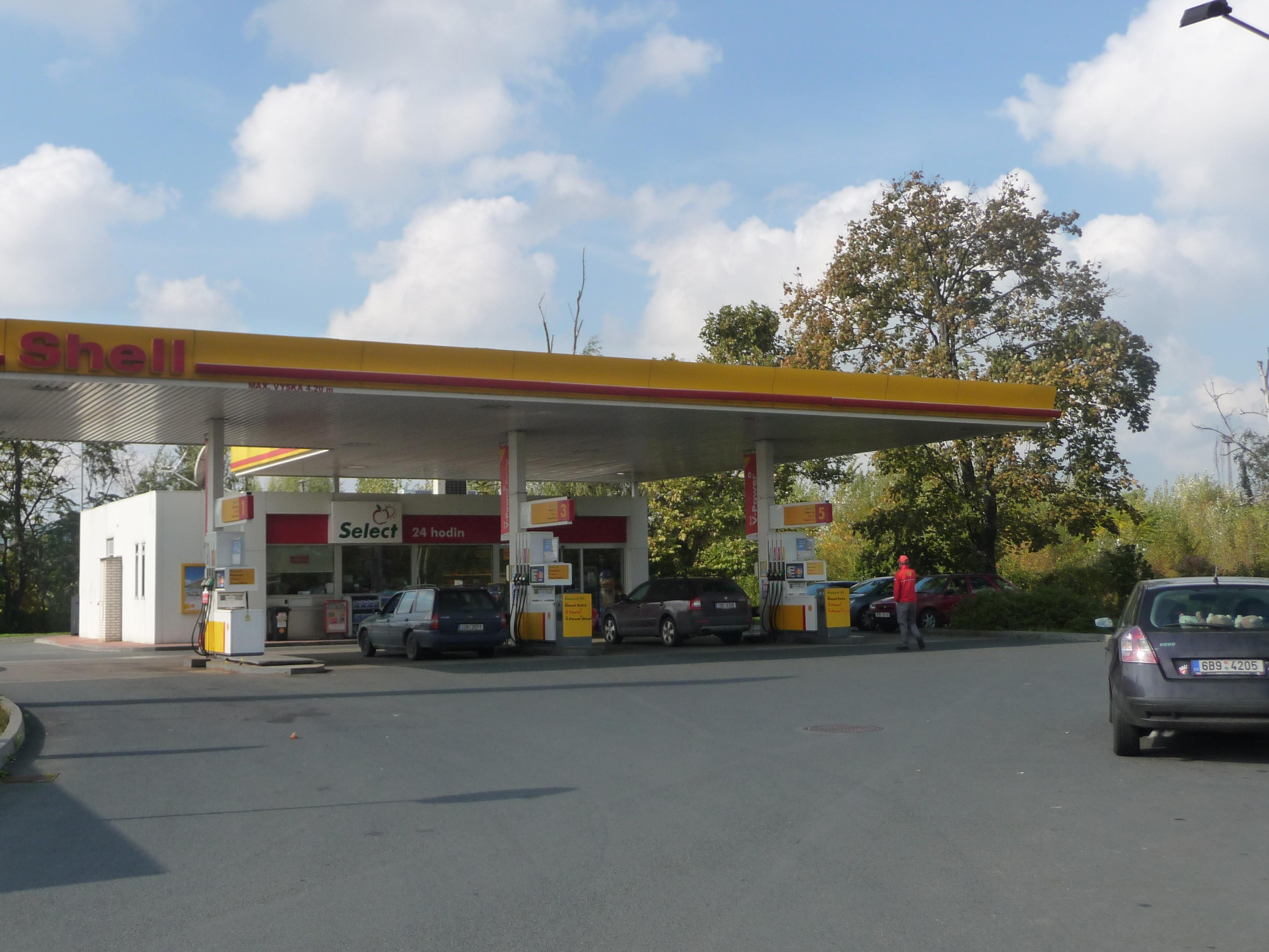 File:Shell gas station, Opuštěná, Brno (1).jpg - Wikimedia Commons