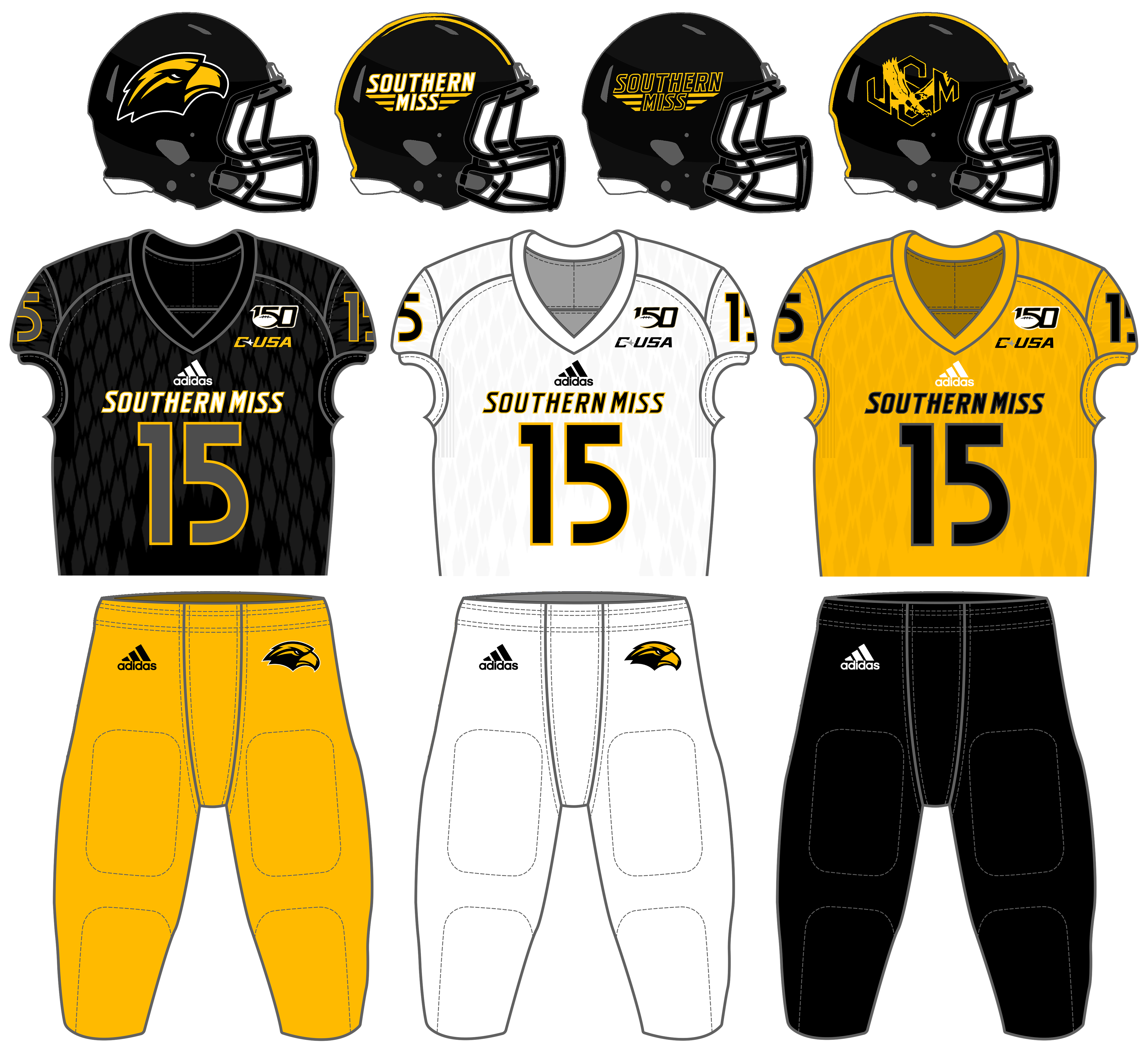 quality design 00c07 776e1 Southern Miss Golden Eagles football - Wikipedia