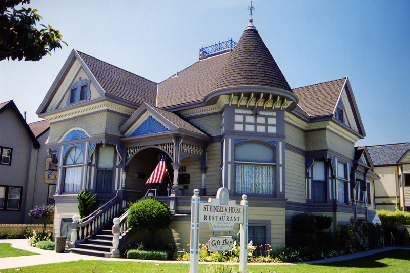 The Steinbeck house in downtown Salinas