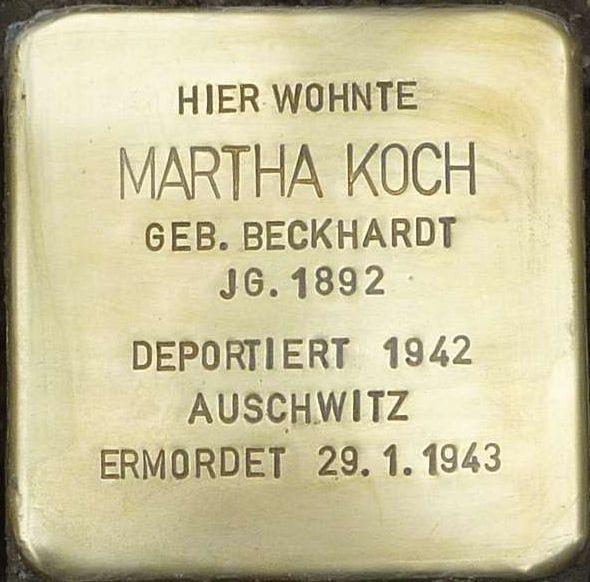 Stolperstein Alzey Martha Koch.jpg
