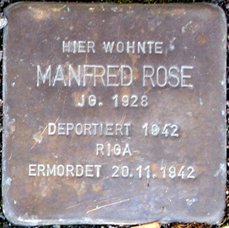 Stolperstein Rose, Manfred.jpg