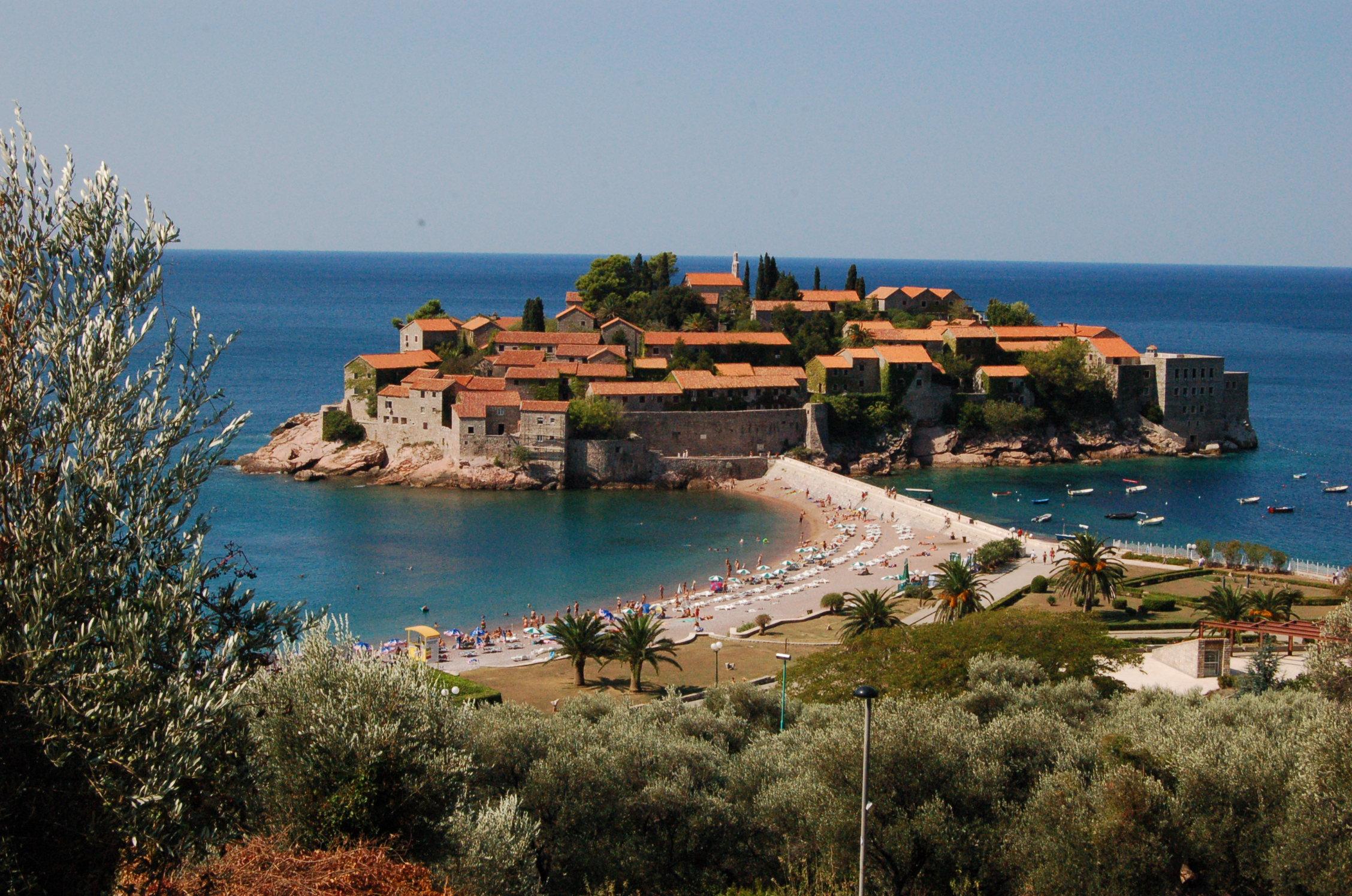 Budva Montenegro  city images : Soubor:Sveti Stefan, Montenegro – Wikipedie