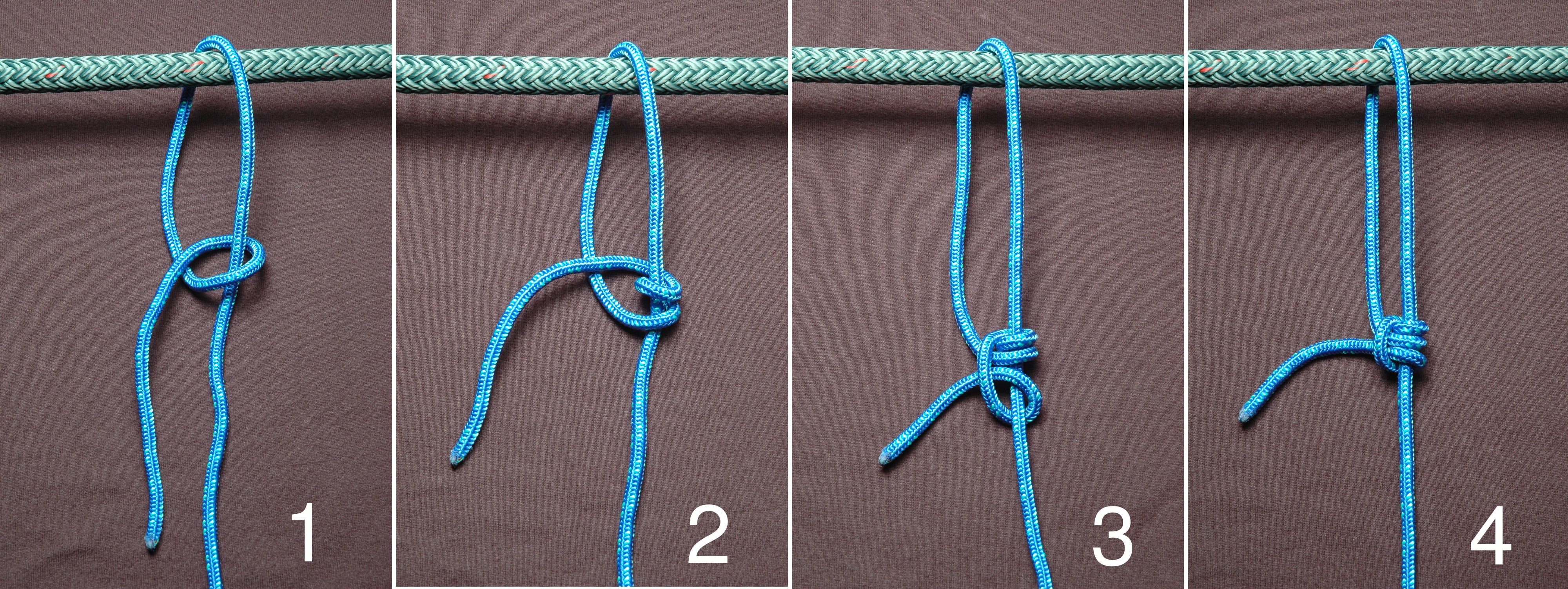 Hitch Parts Diagram Part And Make a Half-hitch