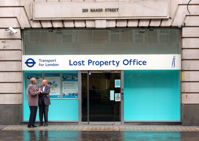 Lost Property Office London Nw Rz