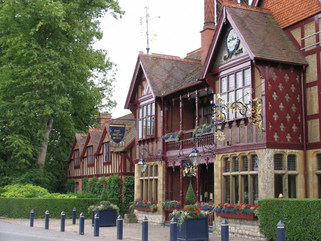 The Five Arrows Hotel, Waddesdon - geograph.org.uk - 598