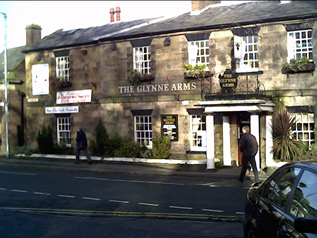 The Glynne Arms Pub opposite Hawarden Castle Gates - geograph.org.uk - 104837