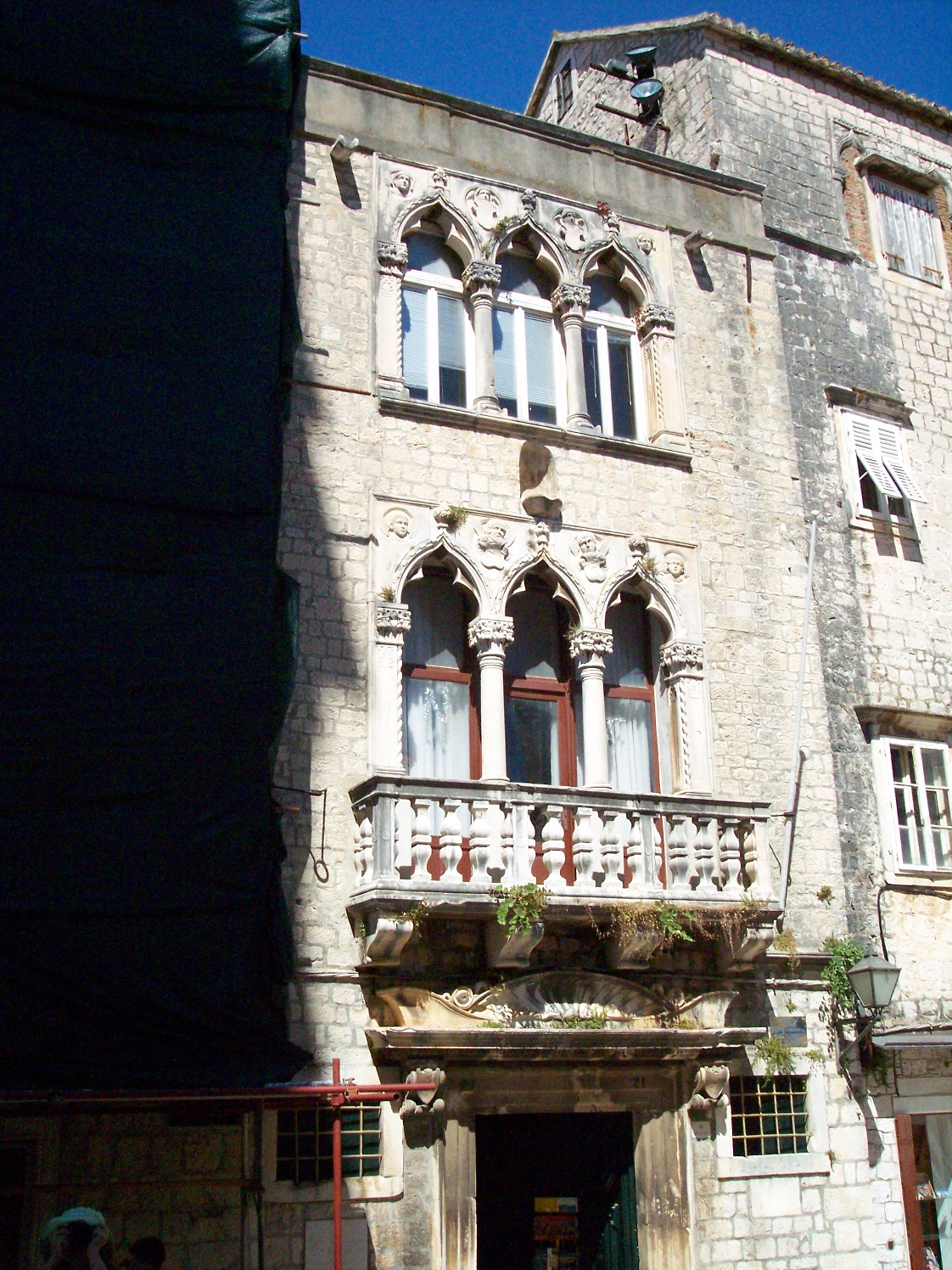 Cippico Palace in [[Trogir