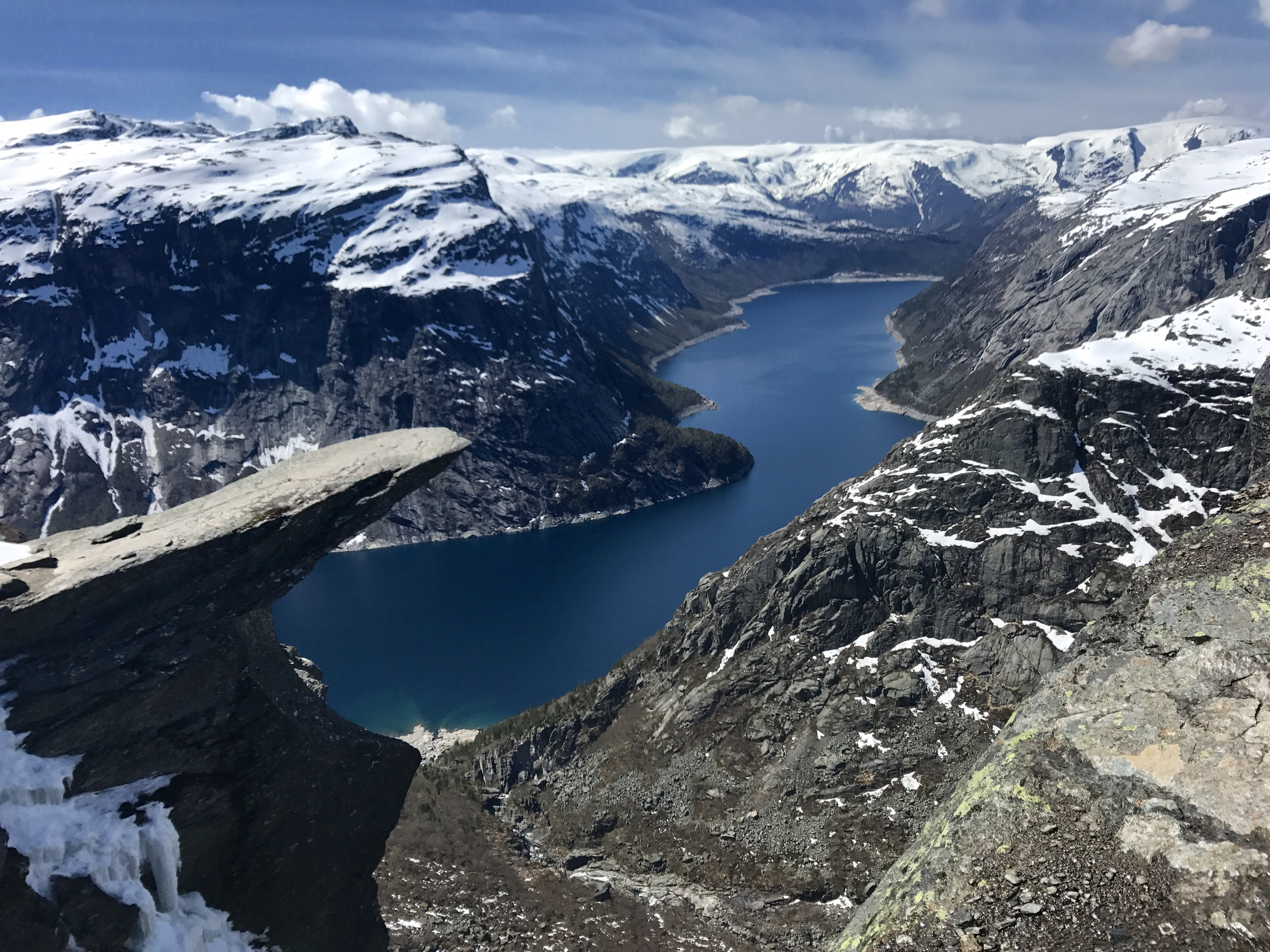 Glaciar foll pa turister