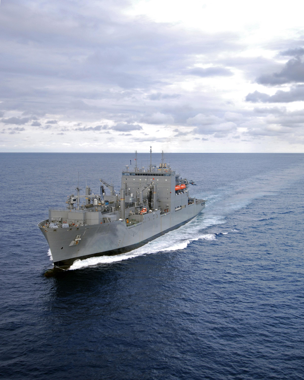 USNS Lewis and Clark in the Atlantic Ocean, December 2006