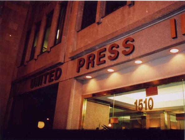 United Press International office in Washington D.C., circa 2005