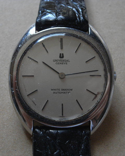 Universal Geneve, Vintage Watch, Automatic Watch, Leather Strap