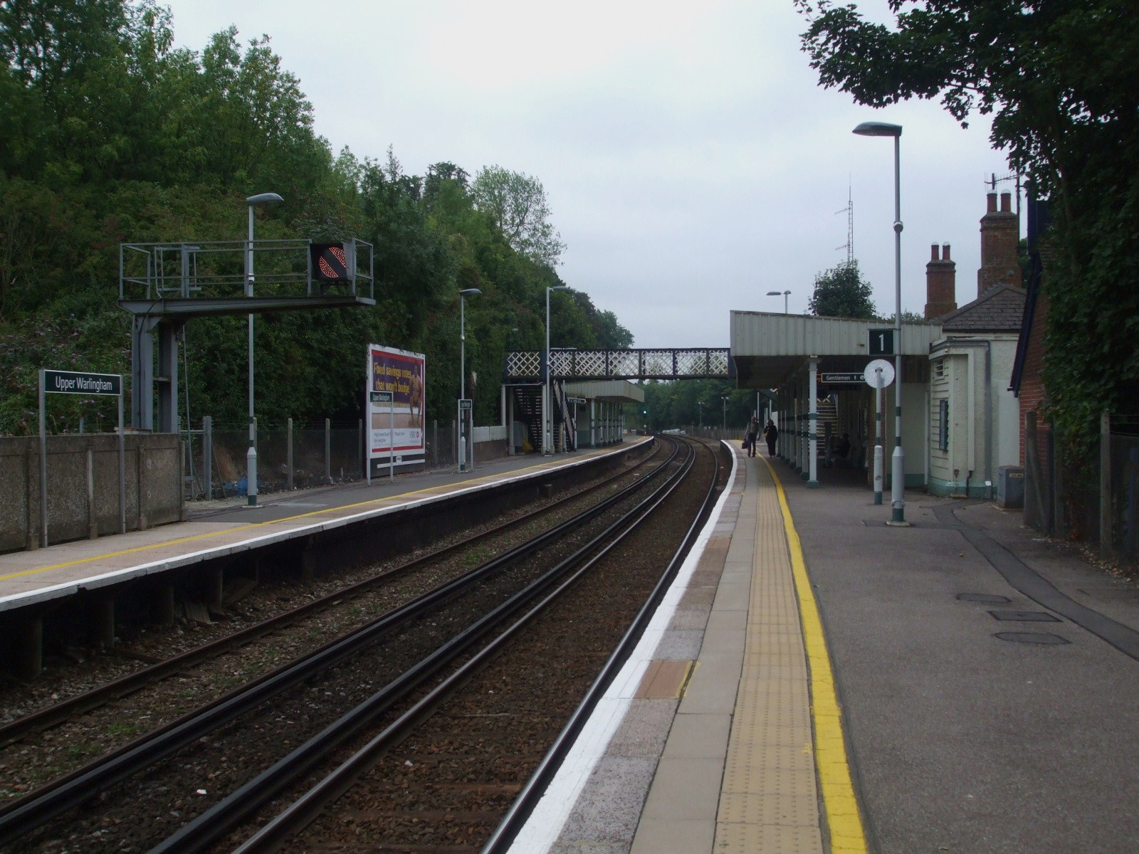 Upper Warlingham Train Station