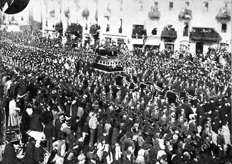Funeral de estado de Giuseppe Verdi