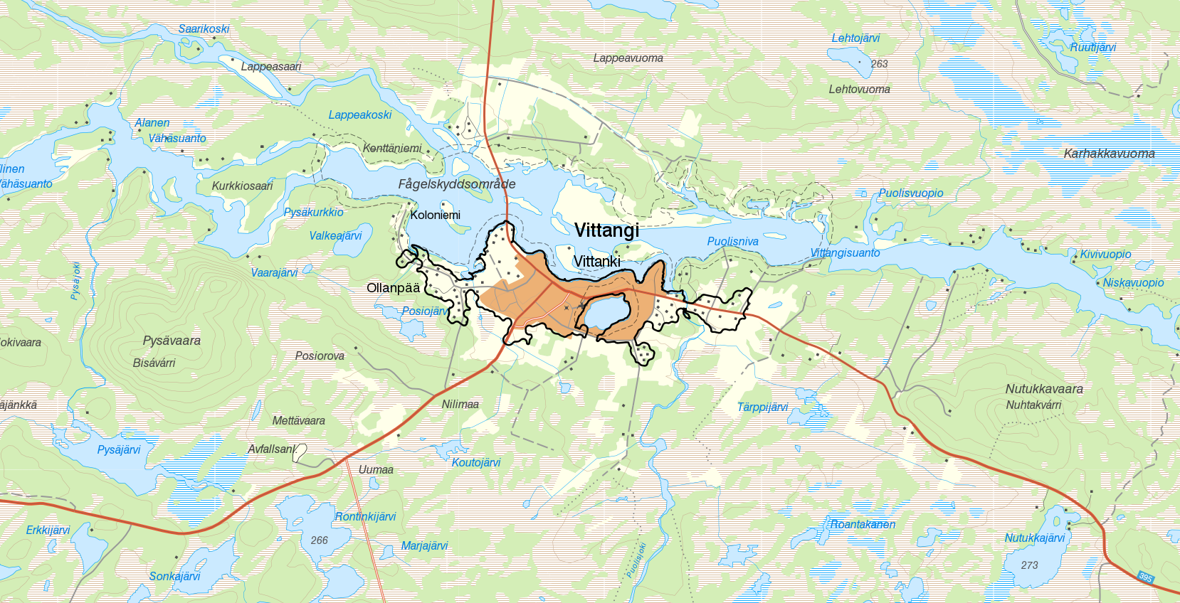 Properties for rent in Vittangi - Kiruna , 2 rooms - Bostadsportal