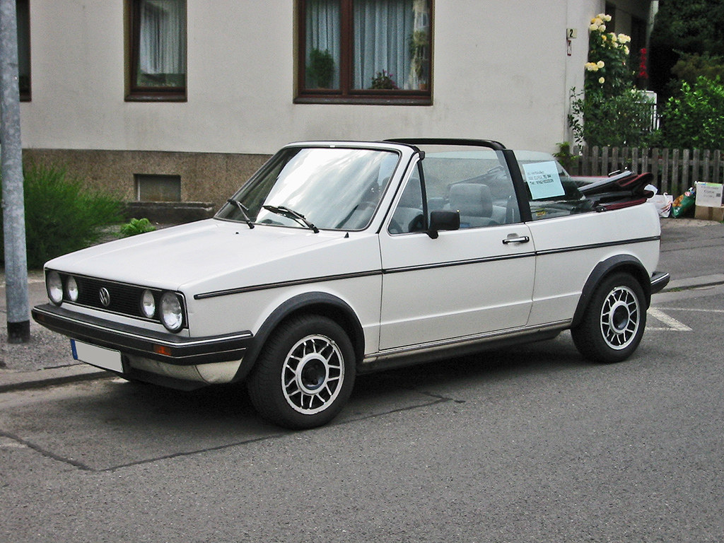 file vw golf 1 cabrio v wikimedia commons. Black Bedroom Furniture Sets. Home Design Ideas